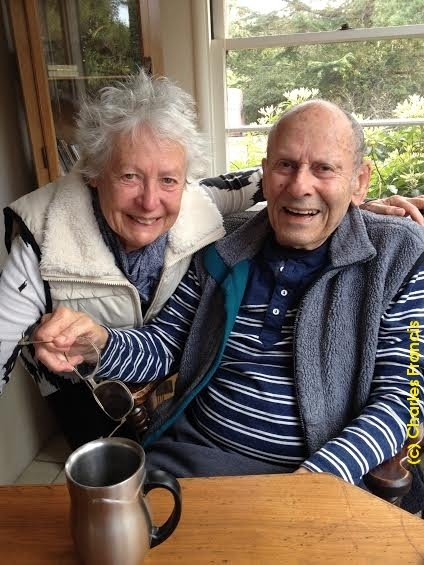Eric and Inga Julber:  Ready to celebrate Eric's 90th...